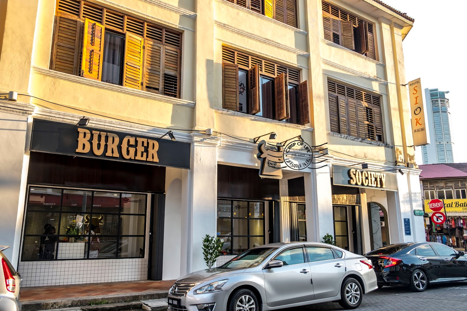 Burger Society @ Leith Street, Georgetown, Penang