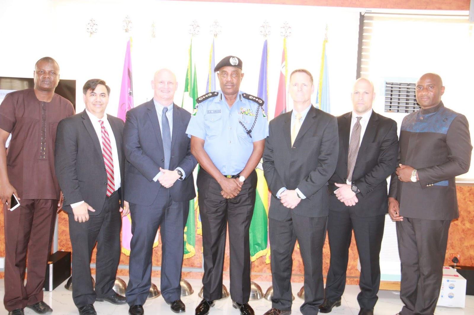 Photo News: FBI meets Police Inspector General
