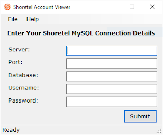 Shoretel Account Viewer v1.0 Released 1