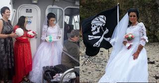 Γυναίκα παντρεύτηκε το φάντασμα πειρατή του 18ου αιώνα