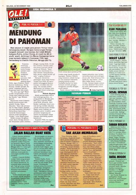 LIGA INDONESIA V: PSBL VS PERSIJA JAKARTA 1-1