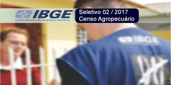 Resultado de imagem para PROCESSO SELETIVO RECENSEADOR PECUÁRIO 2017