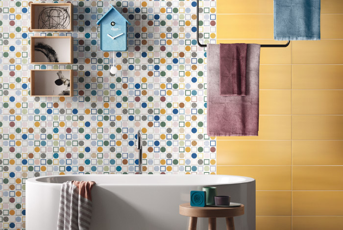 Play by imola ceramica blog di arredamento e interni for Piastrelle bagno lavanda