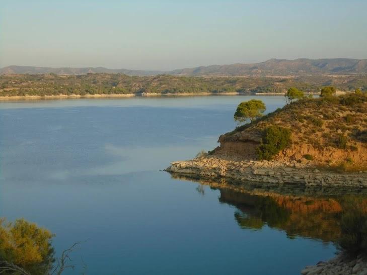 El río Ebro a su paso por el Mas de la Punta - Fabiana