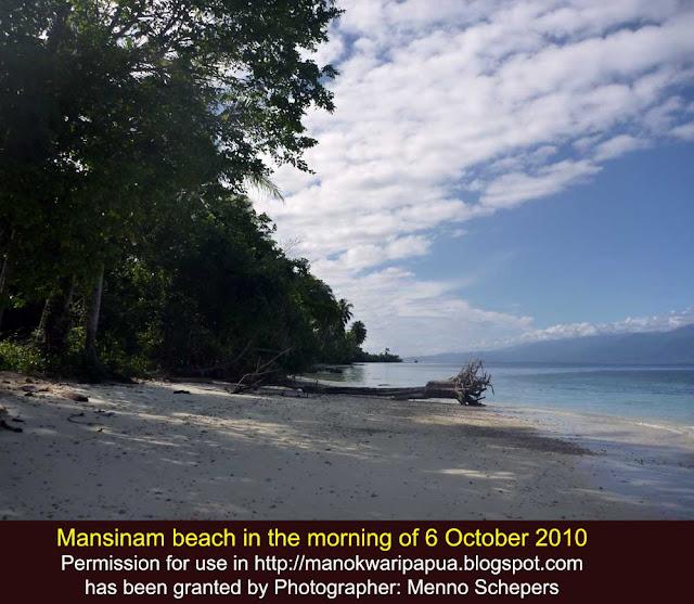 Ekowisata di Manokwari