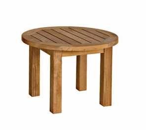 Three Birds Casual Canterbury 20-Inch Low Round Side Table