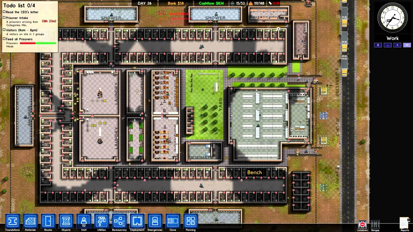 Download prison architect v1 0 final edition anime pc for Architecture games online free
