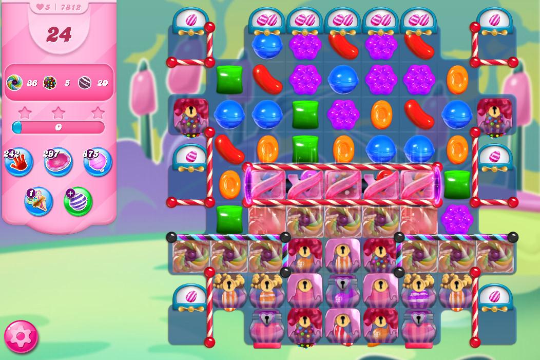 Candy Crush Saga level 7812