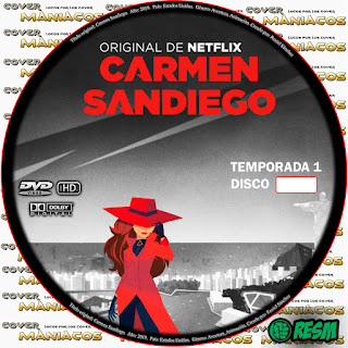 GALLETA - [SERIE NETFLIX] CARMEN SANDIEGO - TEMPORADA - 2019