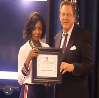 Simi named Human Rights Ambassador by US consulate