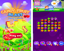 Puzzle Game of the Week - Candy Fruit Blast Game