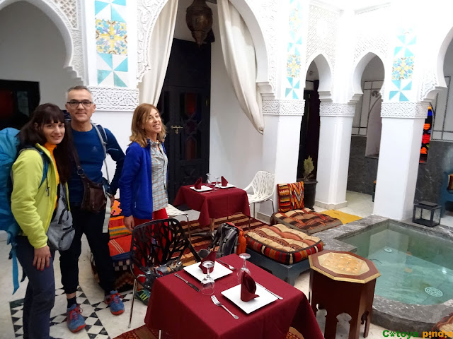 Alojamiento en un riad de Marrakech