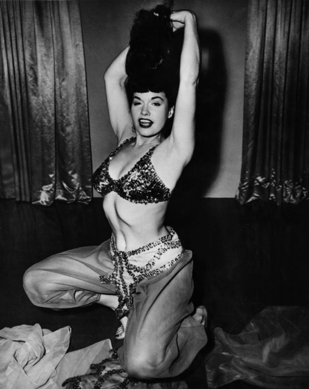 Betty Page Photos: Chatter Busy: Bettie Page Wallpapers