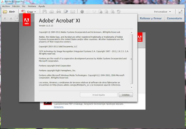 adobe acrobat 11.0