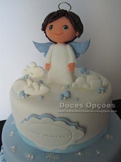 bolo anjo doces opções