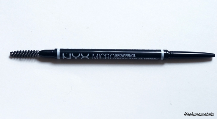 NYX Micro Brow Pencil in Chocolate Espresso Brunette Swatches Comparison Review