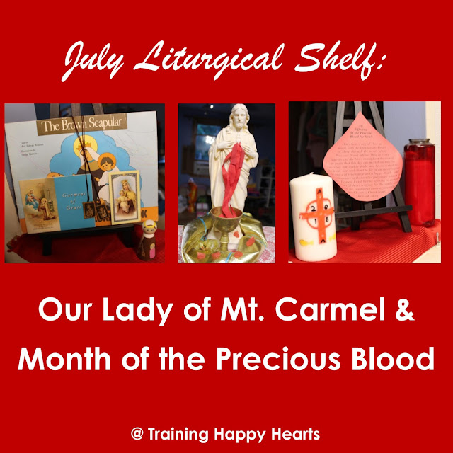 Our Lady of Mt. Carmel and Precious Blood of Jesus