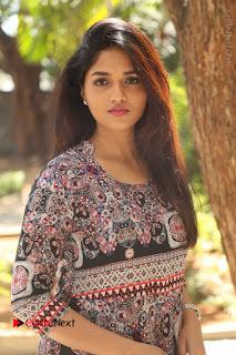 Actress Sunaina Latest Stills in Floral Dress at Pelliki Mundu Prema Katha Trailer Launch  0014.JPG