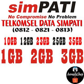 Paket Internet Telkomsel Data Simpati 0812, 0813, 0821