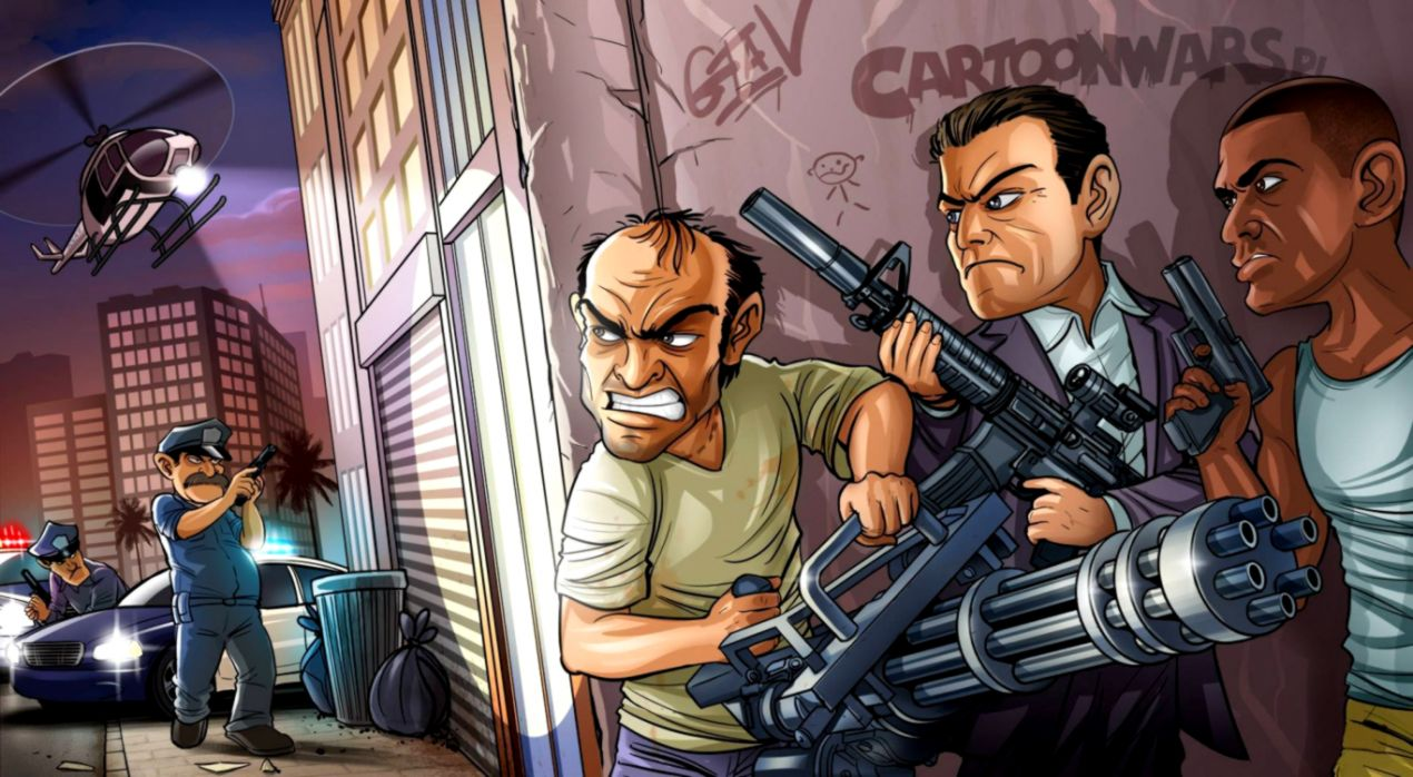 Grand Theft Auto Gta V Hd Games Wallpapers Wallpapers Epic