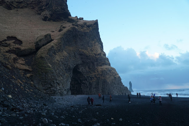 Iceland Cave at Black Beach