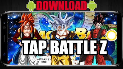 Dragon Ball Fighter Z Tap Battle TBM PSP ISO for Android