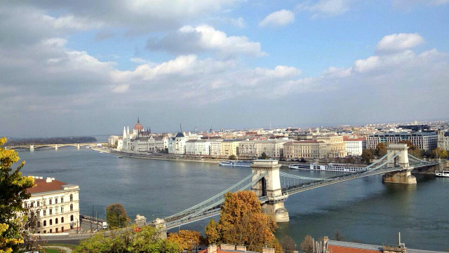 What to do in Budapest? Budapest skyline. View of parliament building and pest side