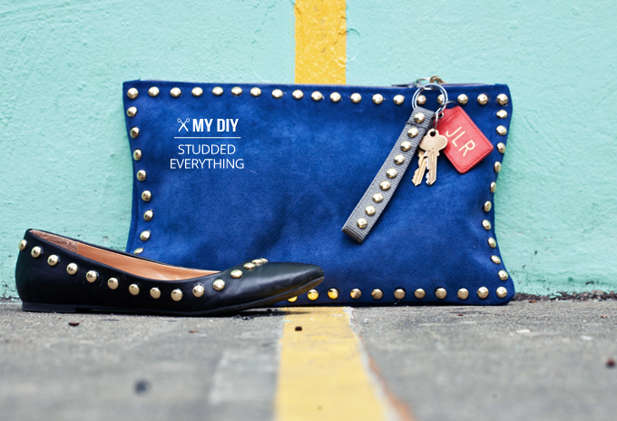 Image Source from: I Spy DIY - studs on shoes