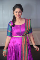 Shilpa Chakravarthy in Purple tight Ethnic Dress ~  Exclusive Celebrities Galleries 049.JPG