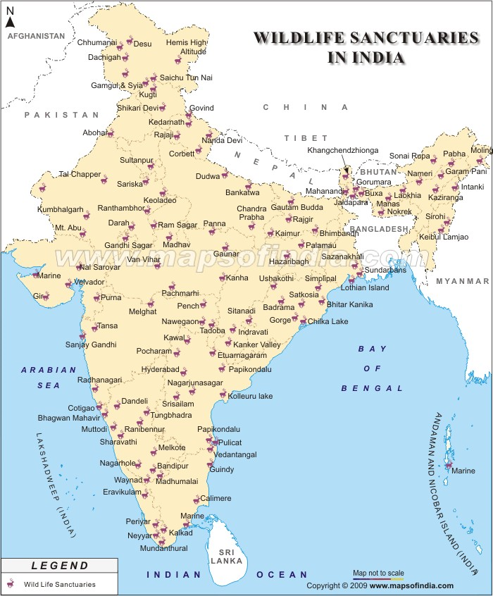 State wise list of national parks of India – updated