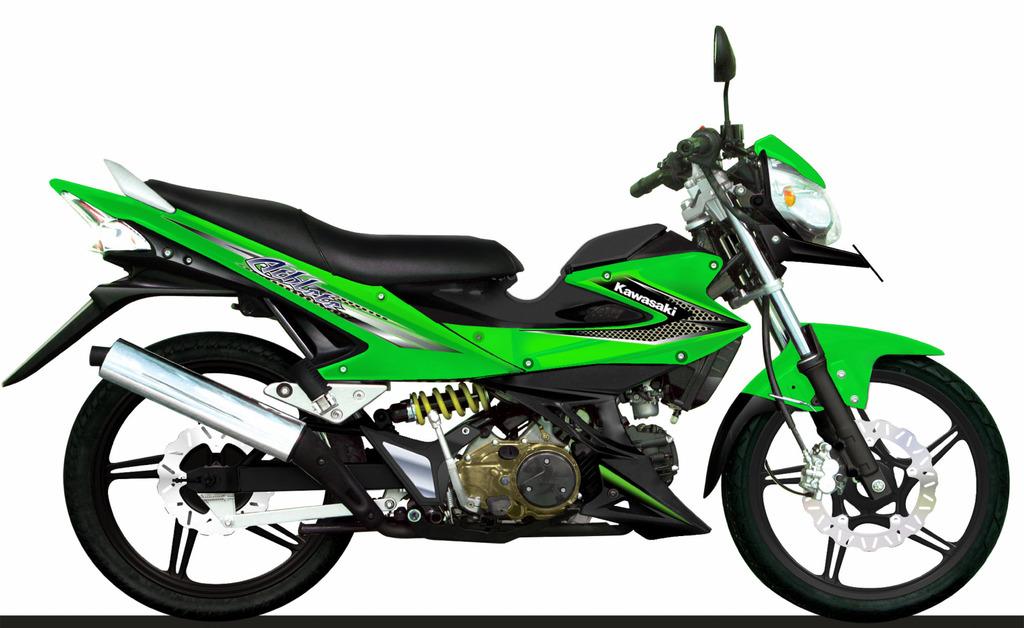 auto gear sport Athlete kawasaki 125cc