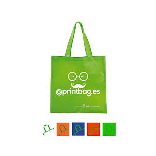 Bolsas recicladas baratas verdes