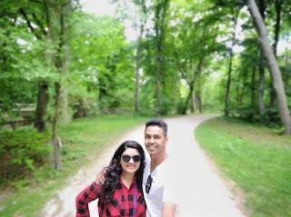 Elita Karim with her Husband Ashfaque Nipun