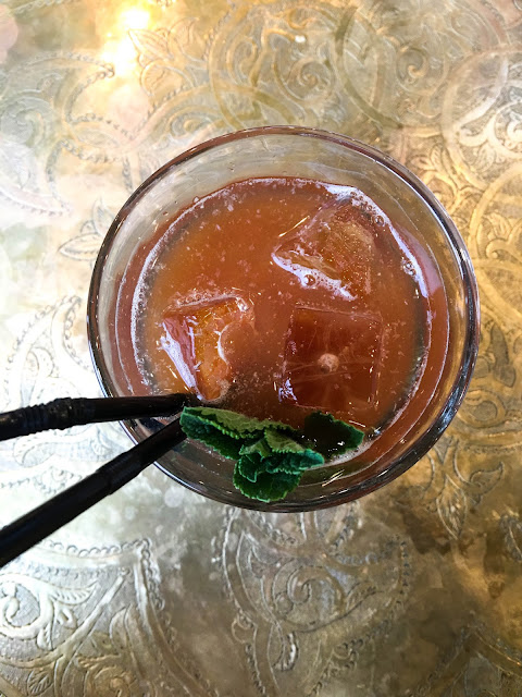 Iced Mint Rose Tea, Comptoir Libanais Reading Berkshire