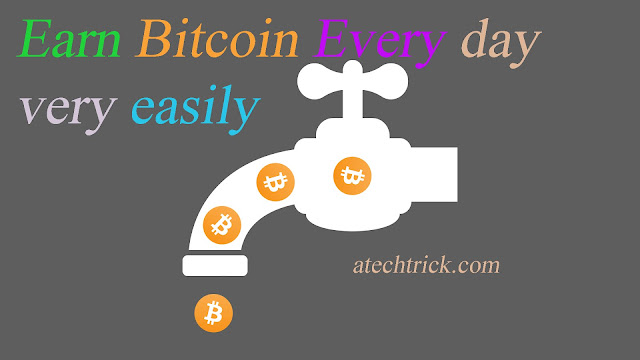 make money through bitcoin every day  with zero investment