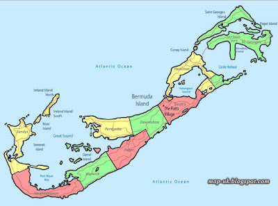 Bermuda Map Political Region and Information