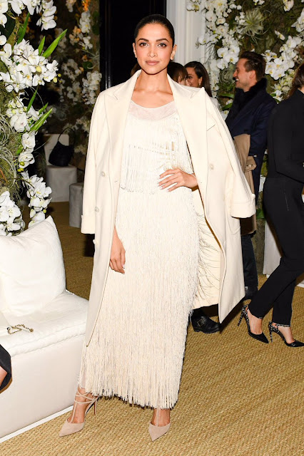 Deepika Padukone in Ralph Lauren at New York Fashion Week
