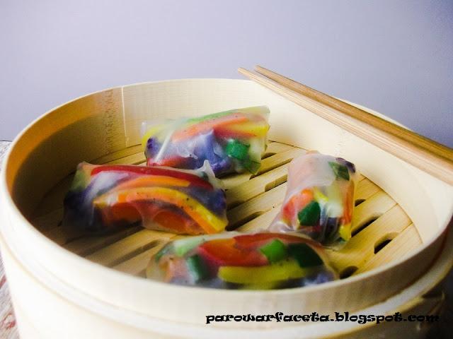 kolorowe warzywa, co zrobić z kalafiora , ile czasu kalafior na parze