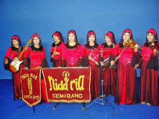 Gambar Group Putri Nasida Ria Semarang 1975