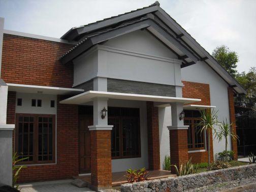 gambar teras rumah kampung sederhana