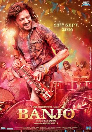 Banjo 2016 Full Hindi Movie Download HD 720p 800MB