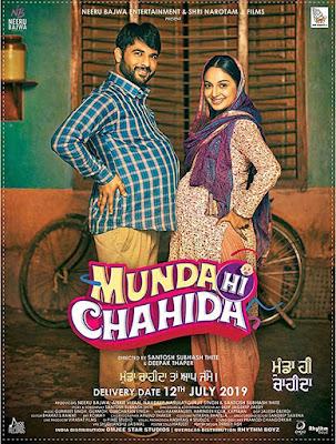 Munda Hi Chahida 2019 Punjabi HDTV 480p 350Mb x264