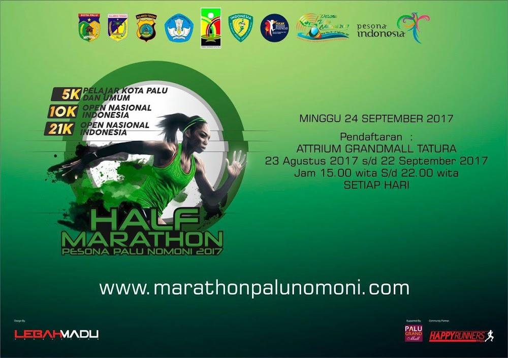 Half Marathon Palu Nomoni • 2017