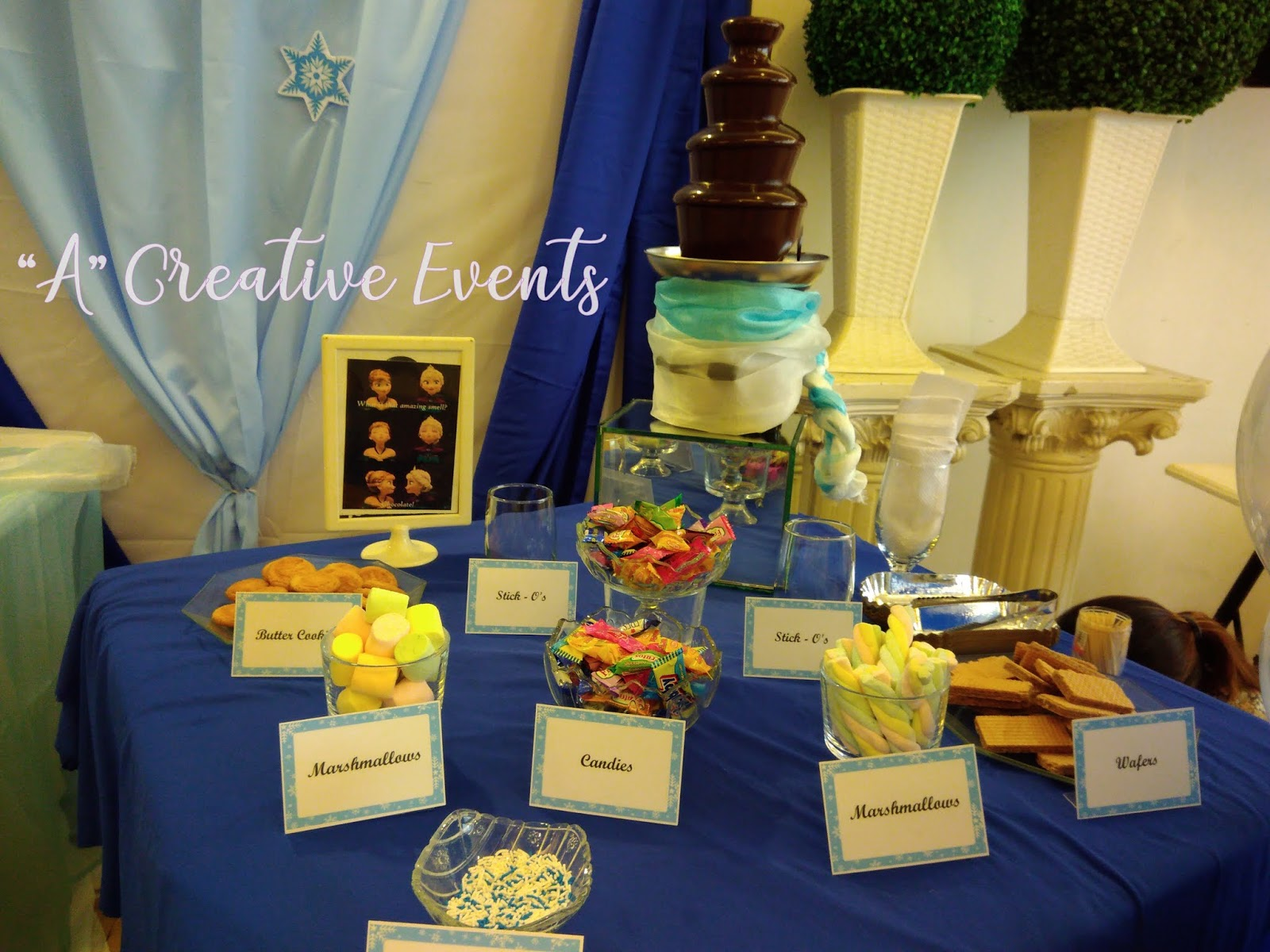Frozen Themed Party Sweet Station - Davao City