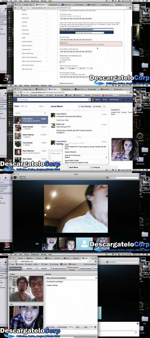 Descargar Unfriended HD 720p