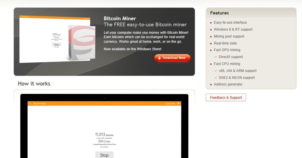 Let your PC make you money with Bitcoin Miner