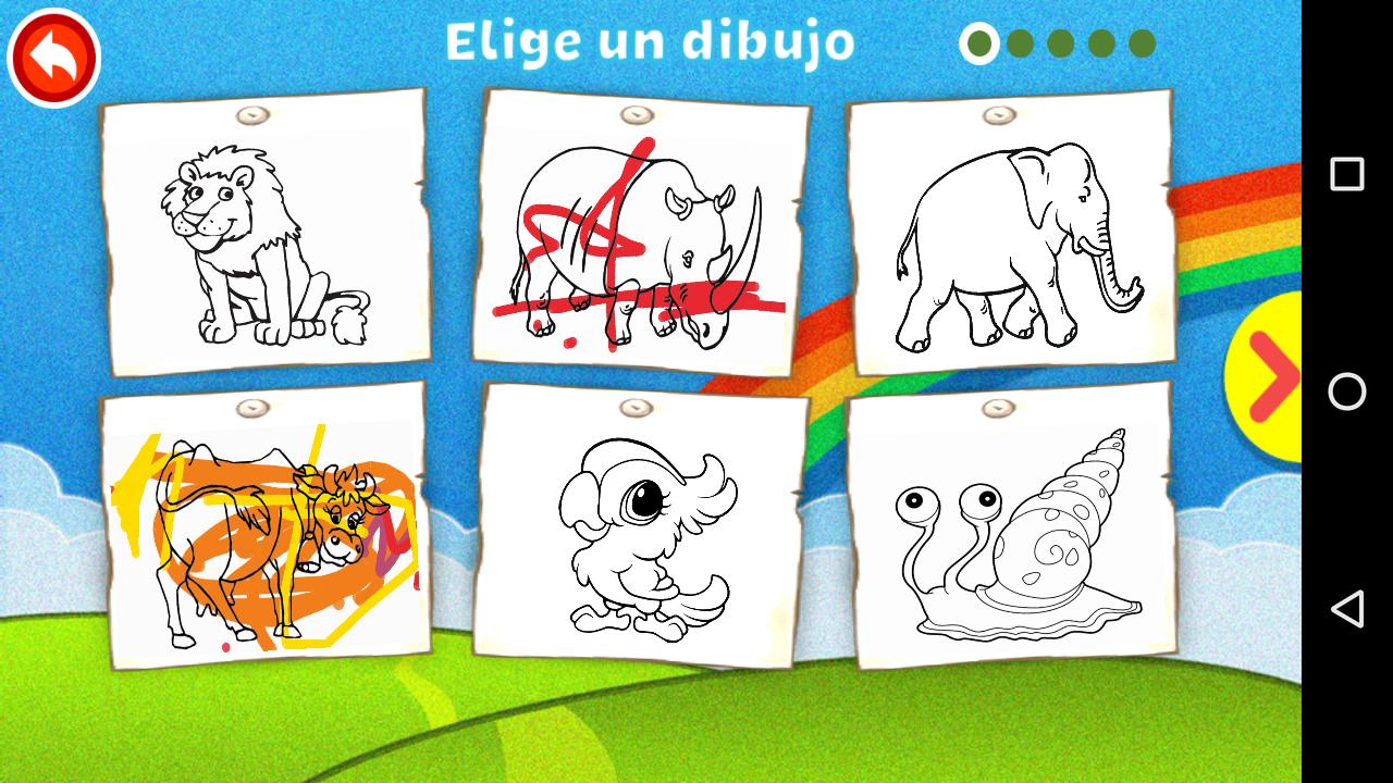 Colorear y Pintar para Niños. | Tunea Tu Pc y Dispositivos Móviles