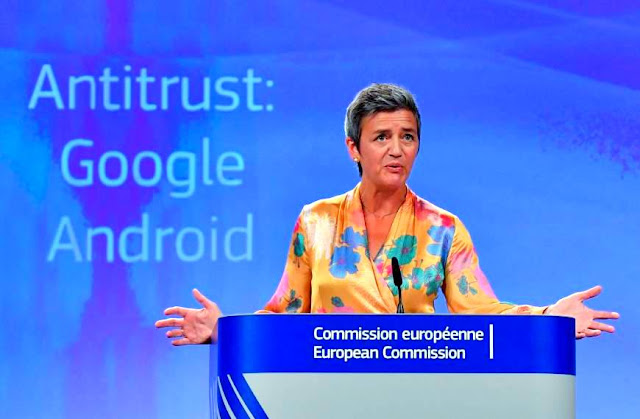 EU slaps Google with a fine of $5 billion, Google defends it