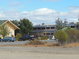 Amtrak Train in Paso Robles, ©B. Radisavljevic