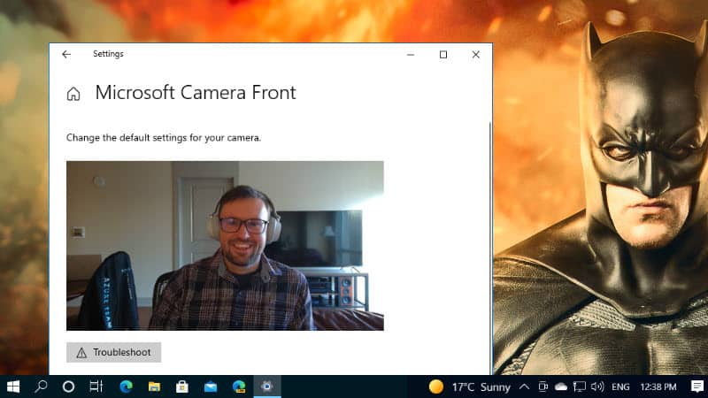 How to adjust camera brightness and contrast in Windows 10